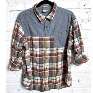 Columbia Flannel Long Sleeve Button Down